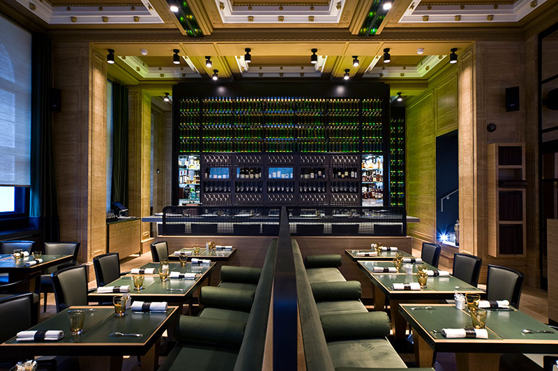Conamar delivers parisian fine dining in central london for Best private dining rooms central london