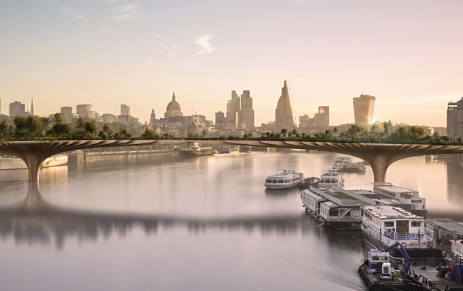 Lower Thames Crossing and the Garden Bridge take shape