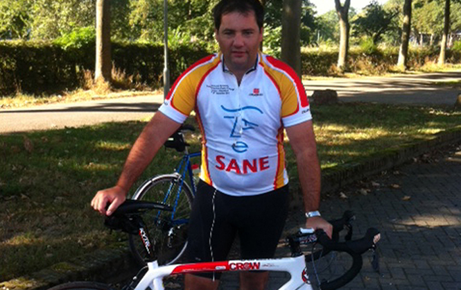 Stevenage Firm Supports Mental Health Charity in Four-Day Cycle Ride to Germany
