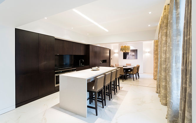 Conamar completes refurbishment of central London residence