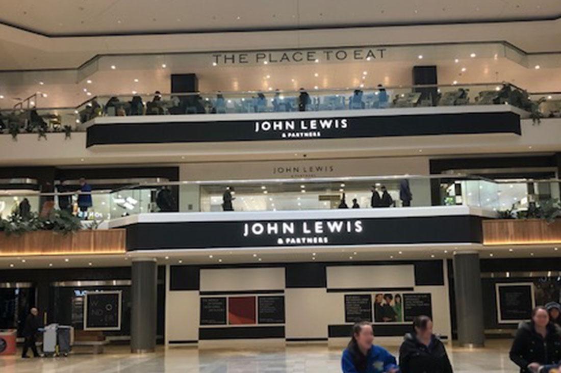 John Lewis Peterborough Built by Conamar Build