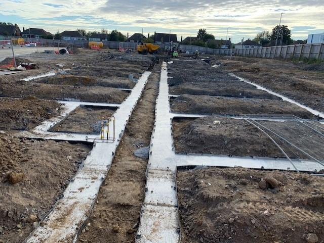 Premier Inn Faversham Construction Works