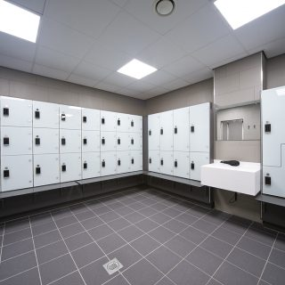 North Herts Leisure Centre Changing Facilities Refurbishment