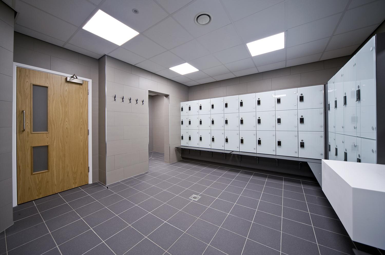 North Herts Leisure Centre Changing Facilities Refurbishment